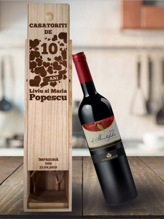 Care sunt avantajele cutiilor de vin personalizate?